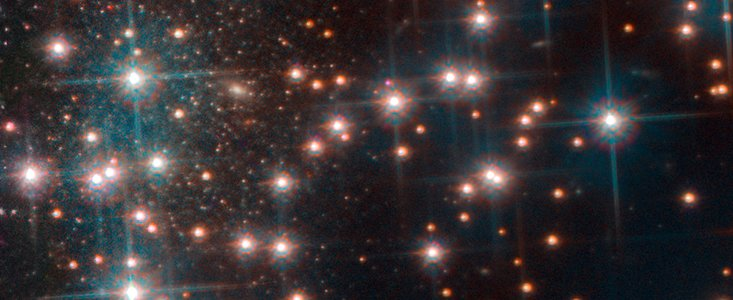 Den nyopdagede dværggalakse Bedin1