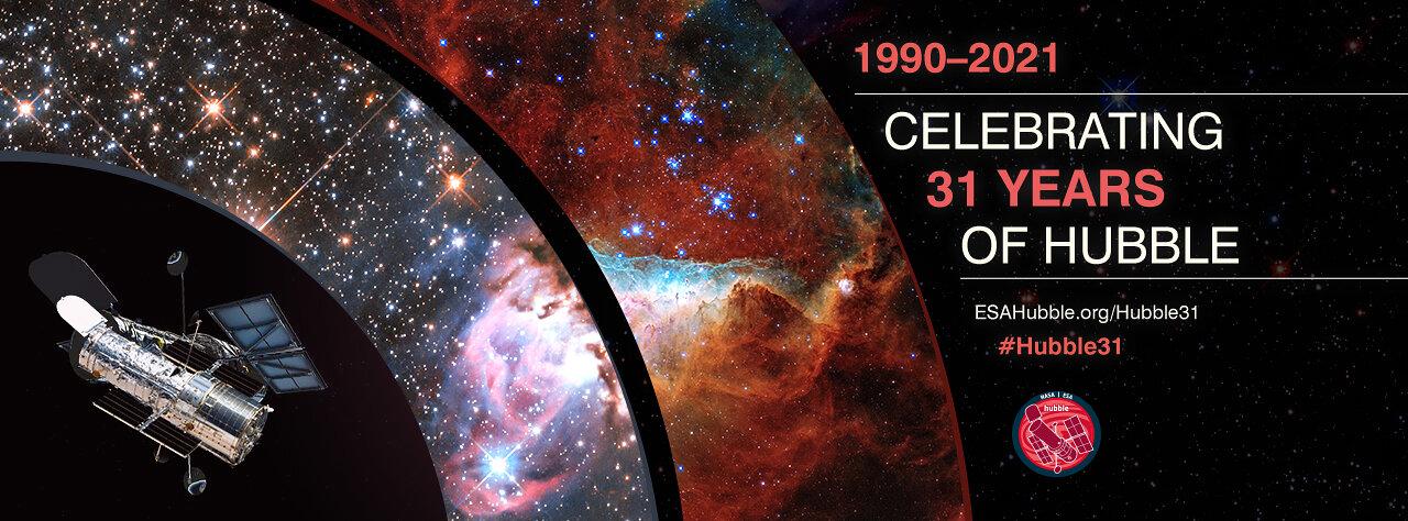 Hubble 31th anniversary