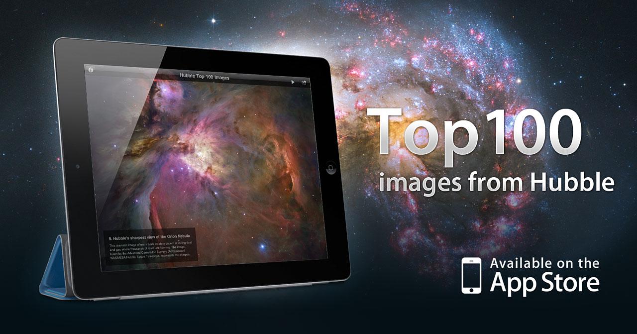 The ESA/Hubble Top 100 images iPad app   ESA/Hubble