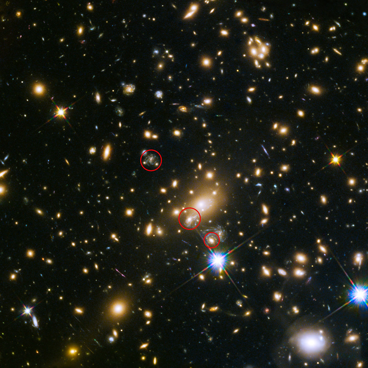 Caught in the act | ESA/Hubble