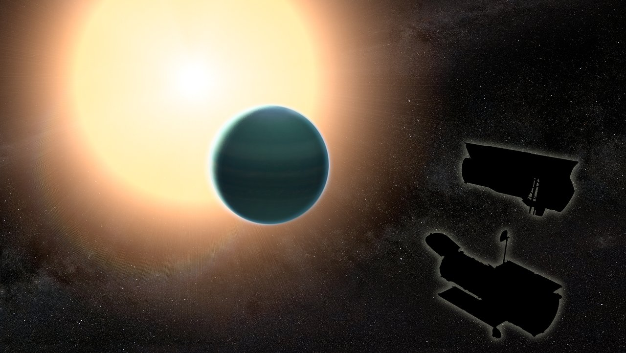 Study finds unexpectedly primitive atmosphere around warm Neptune