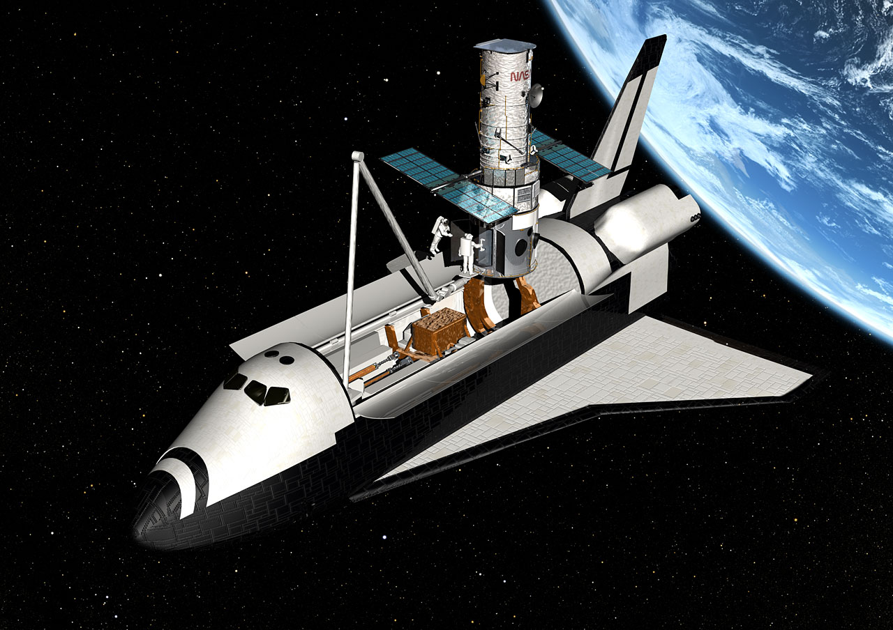 spacecraft and space shuttle difference - photo #41