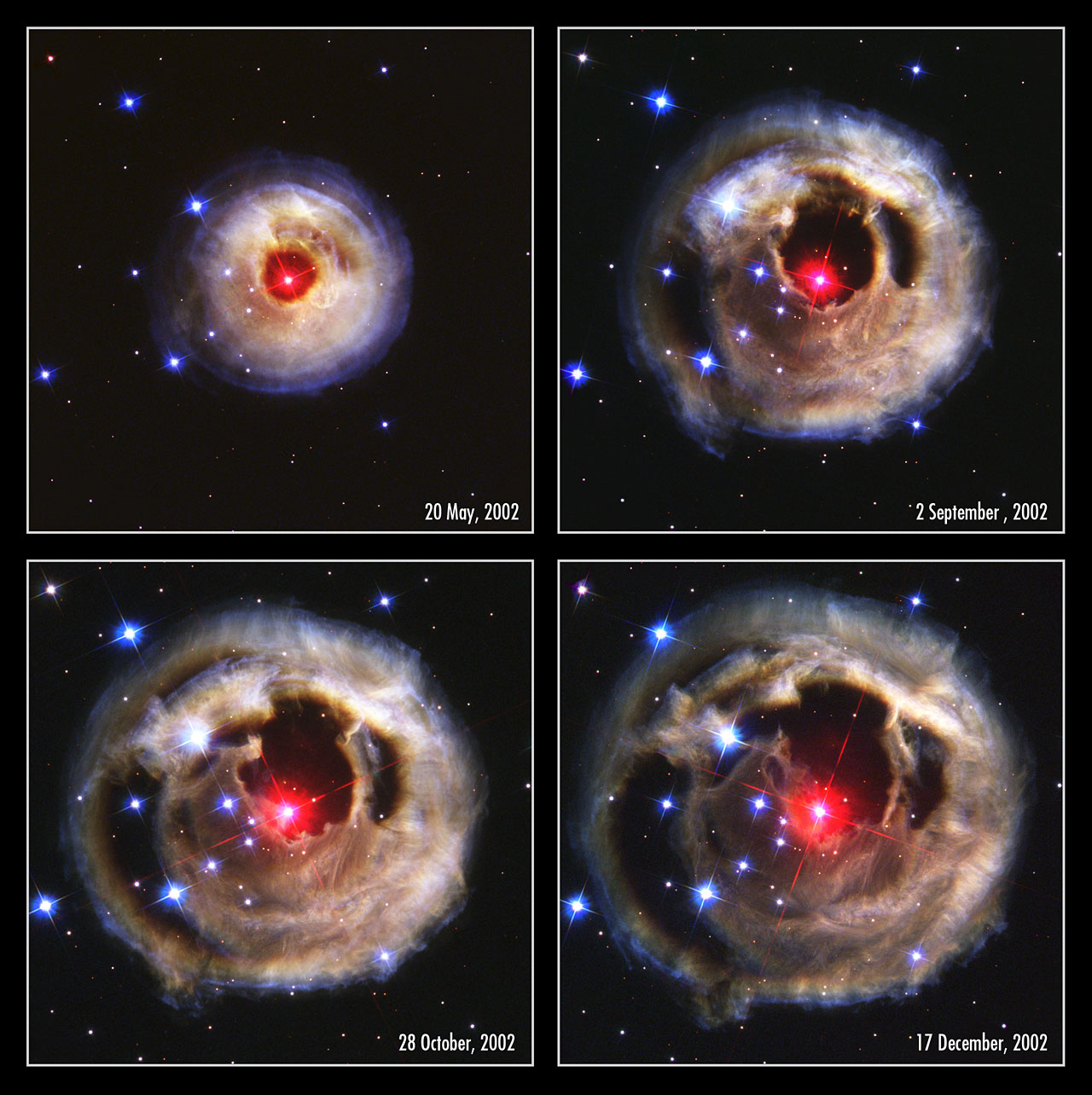 Hubble watches light echo from mysterious erupting star ...