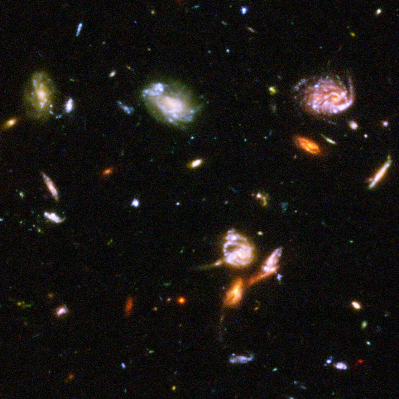 Hubble reveals galactic drama [image 1] | ESA/Hubble