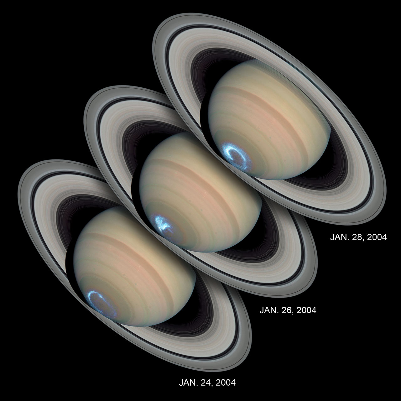 Are Saturn S Rings Moving