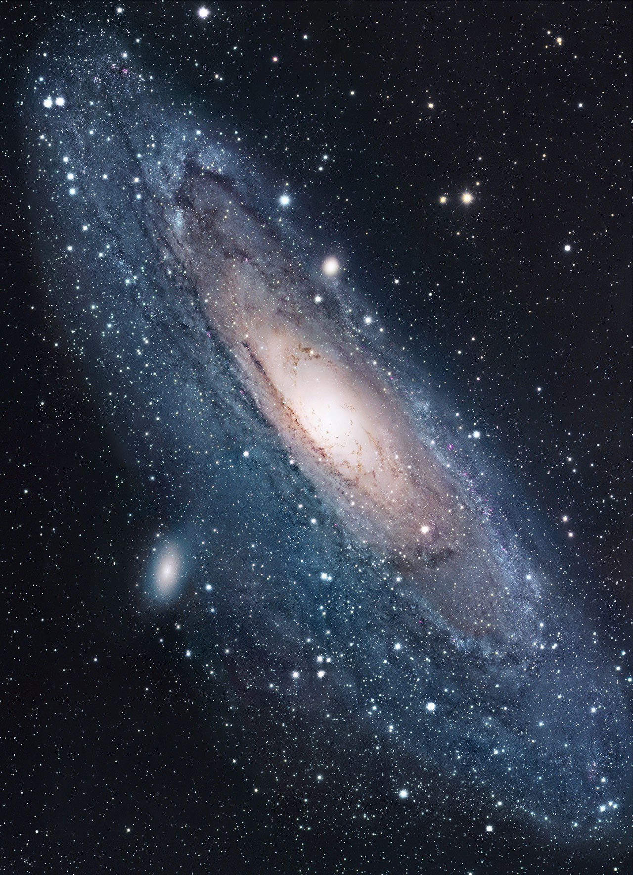 Andromeda Galaxy (M31) wide-field image | ESA/Hubble
