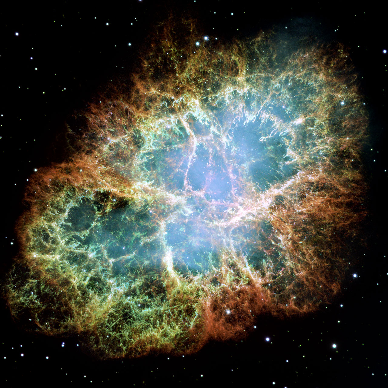 Most detailed image of the Crab Nebula | ESA/Hubble