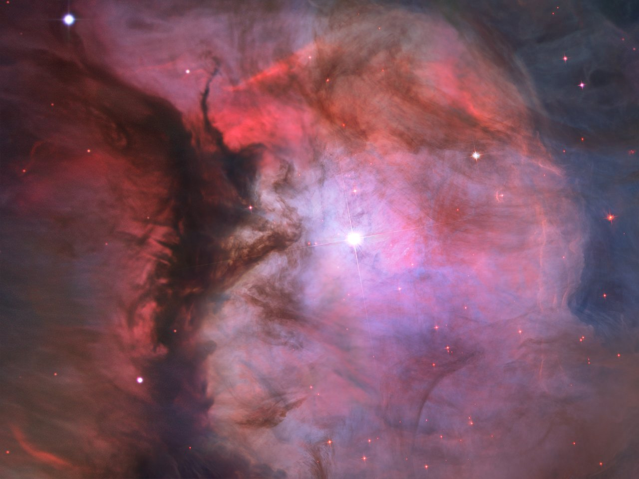 hubble panoramic view of orion nebula reveals thousands of. Black Bedroom Furniture Sets. Home Design Ideas