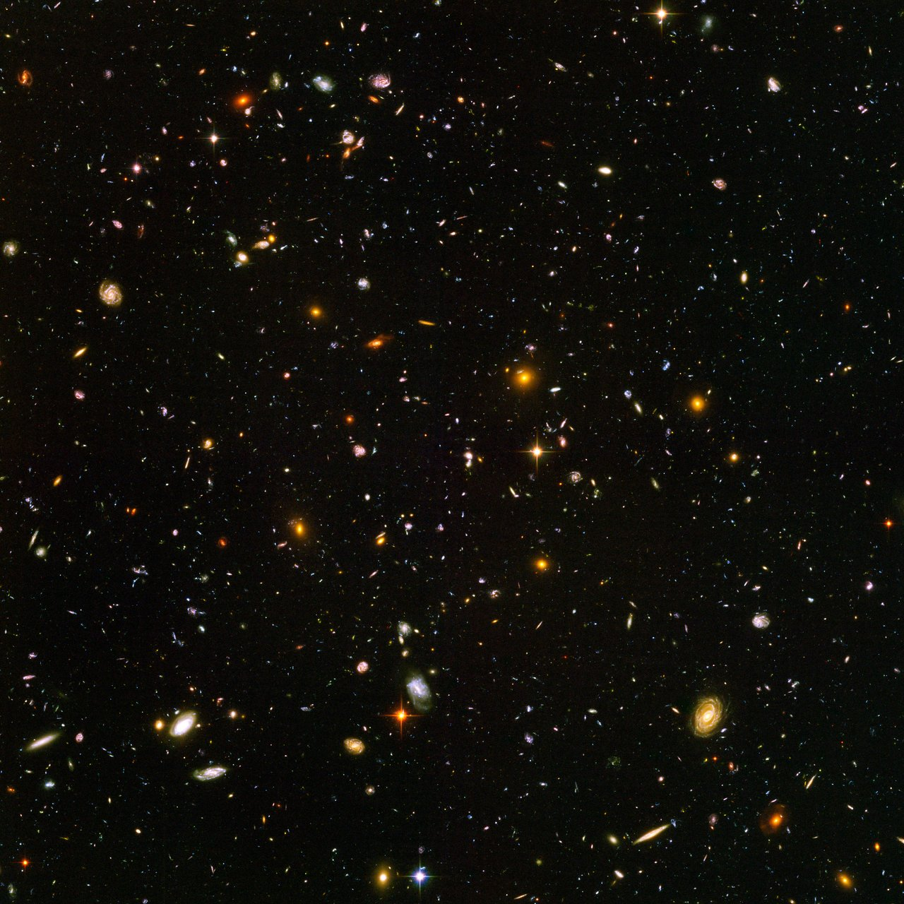 Hubble Ultra Deep Field Esa Hubble