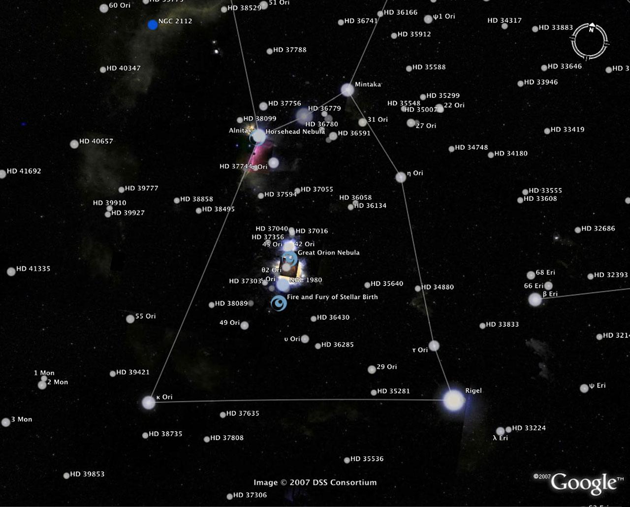 f502bffc1570 The Sky in Google Earth