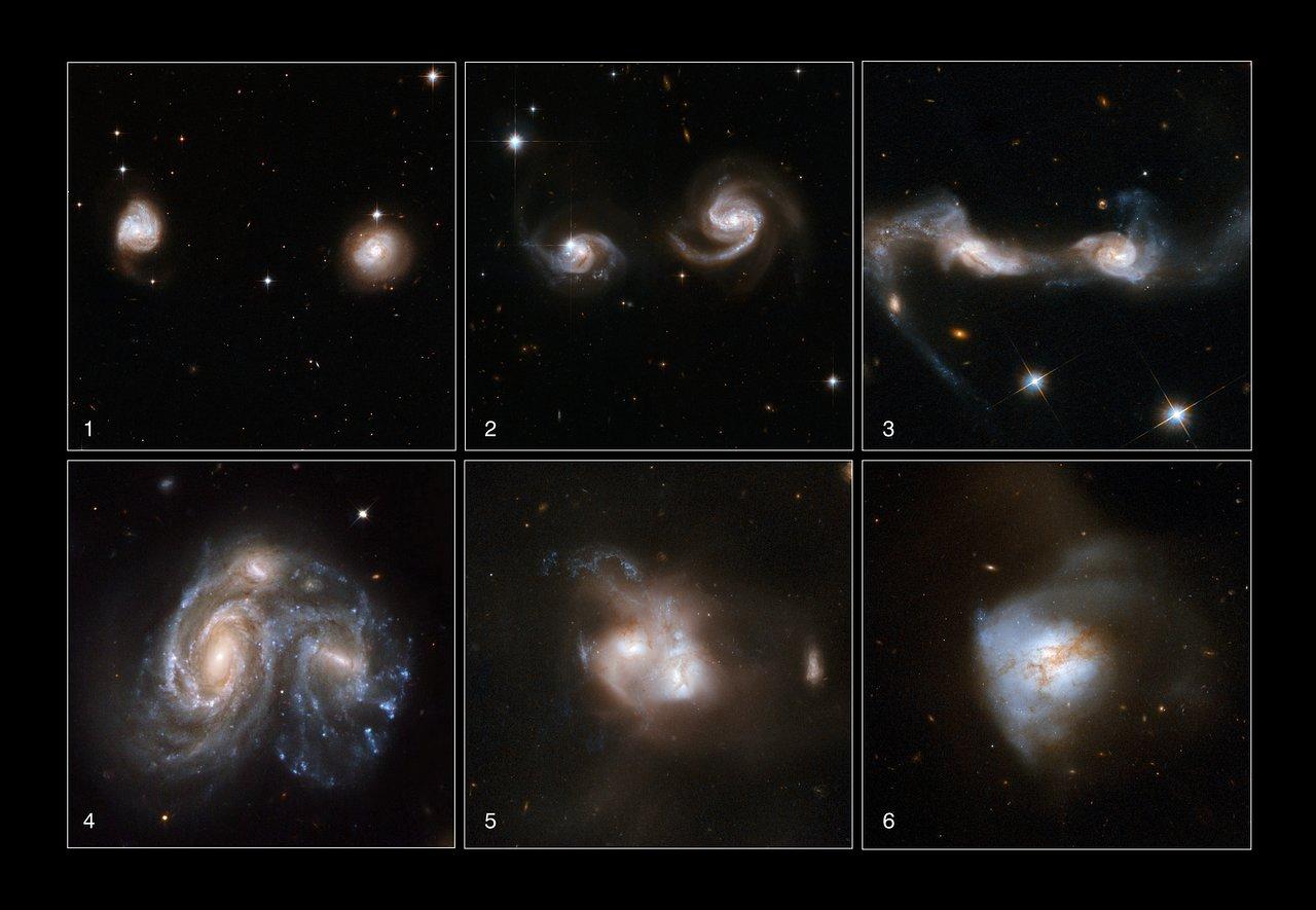 Galaxies Gone Wild!   ESA/Hubble
