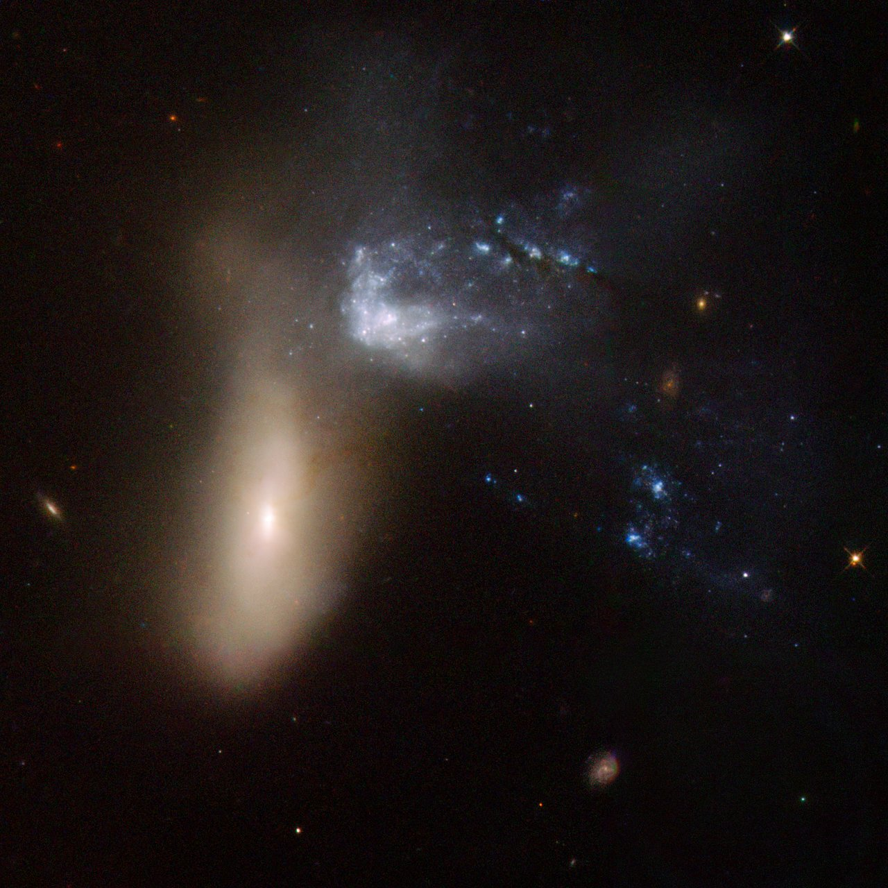 hubble galaxies pair - photo #19