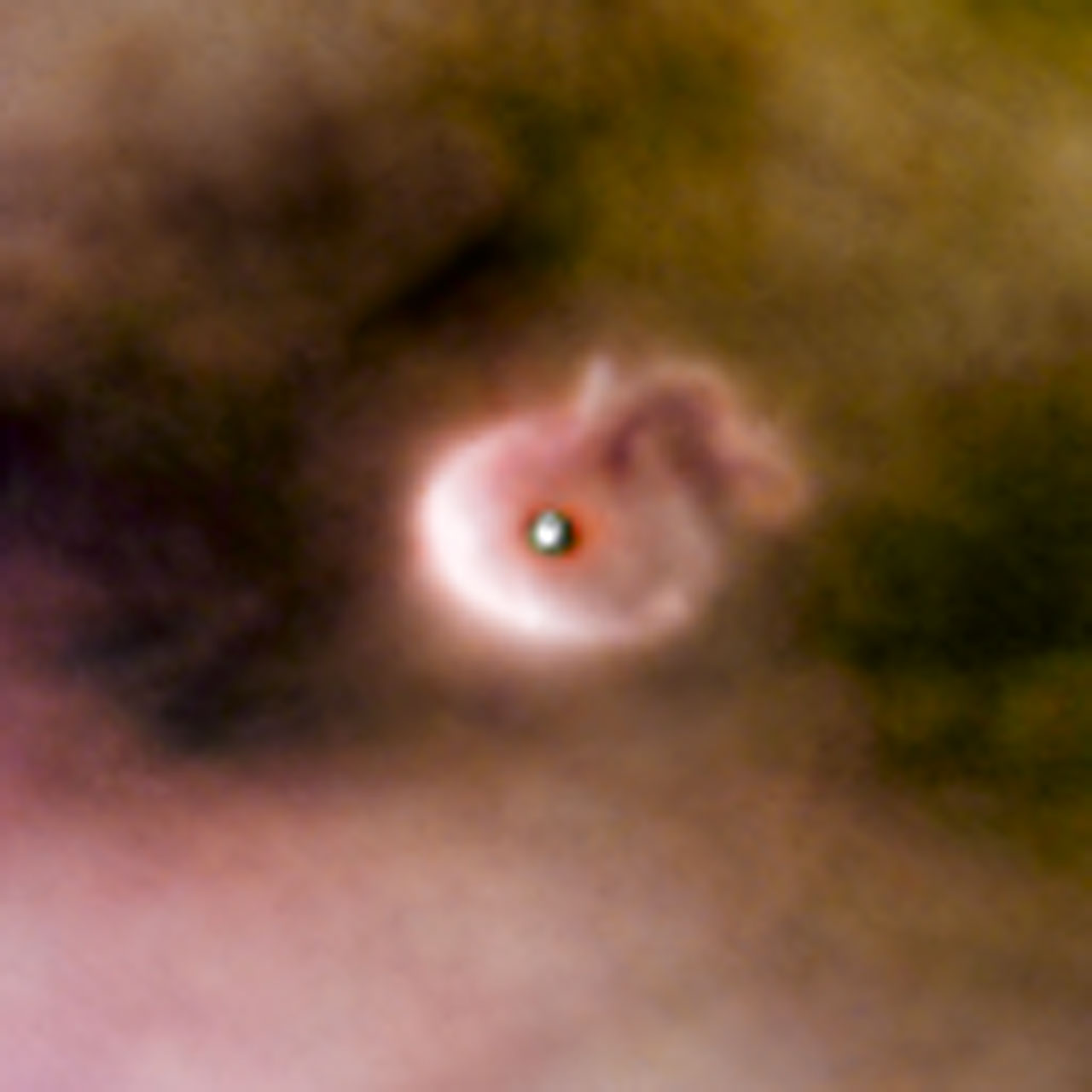 Born in beauty: proplyds in the Orion Nebula   ESA/Hubble