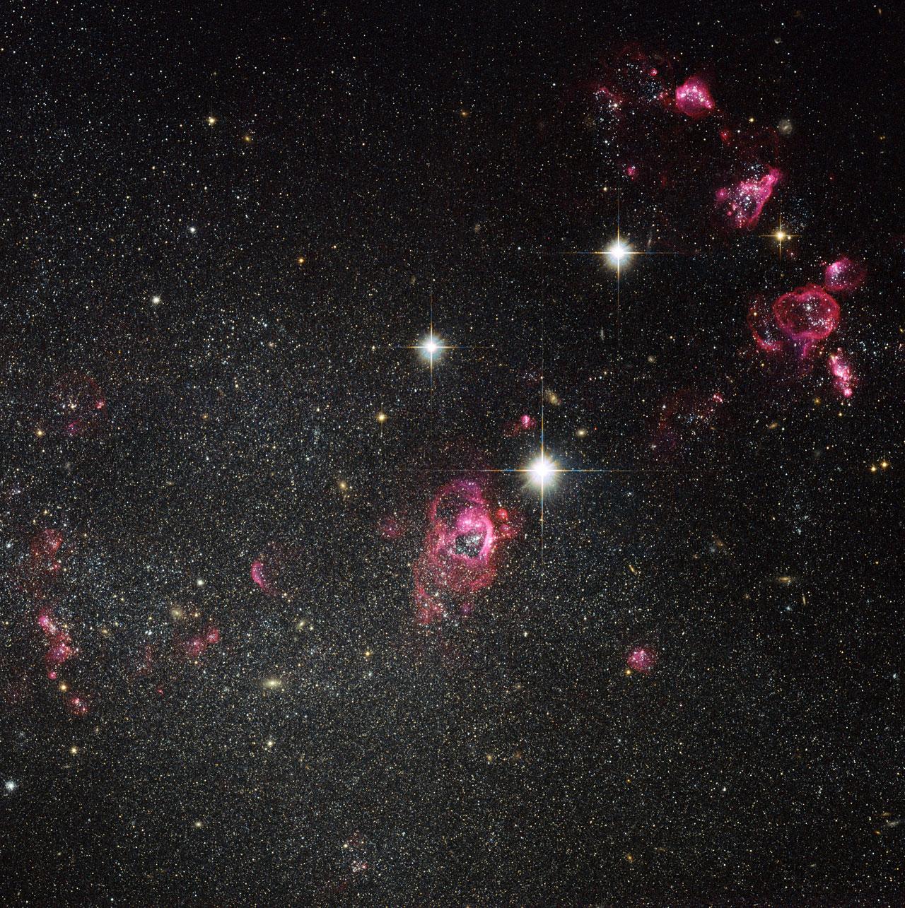Dwarf stars hubble
