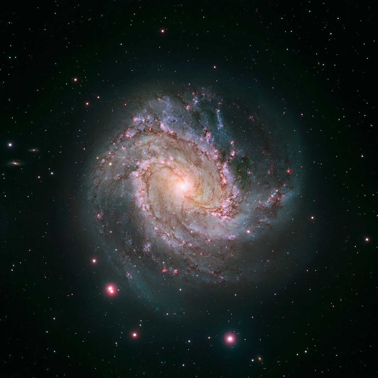 A galaxy with two hearts | ESA/Hubble