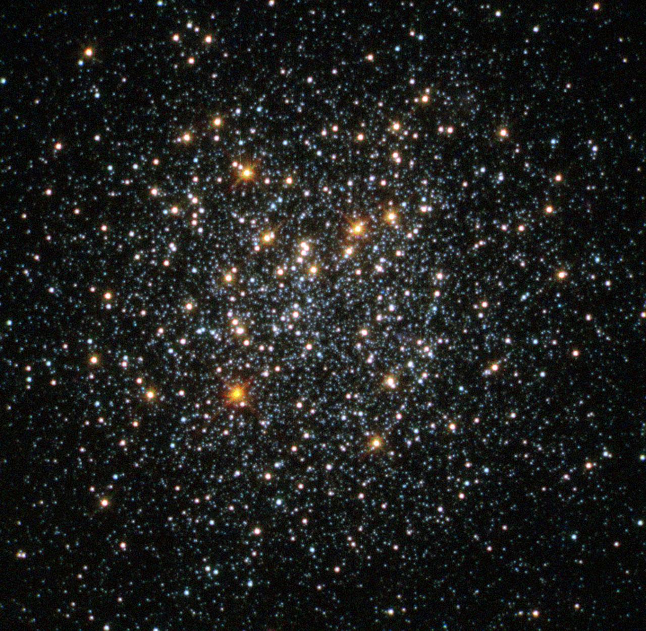 globular cluster fornax 2 esahubble