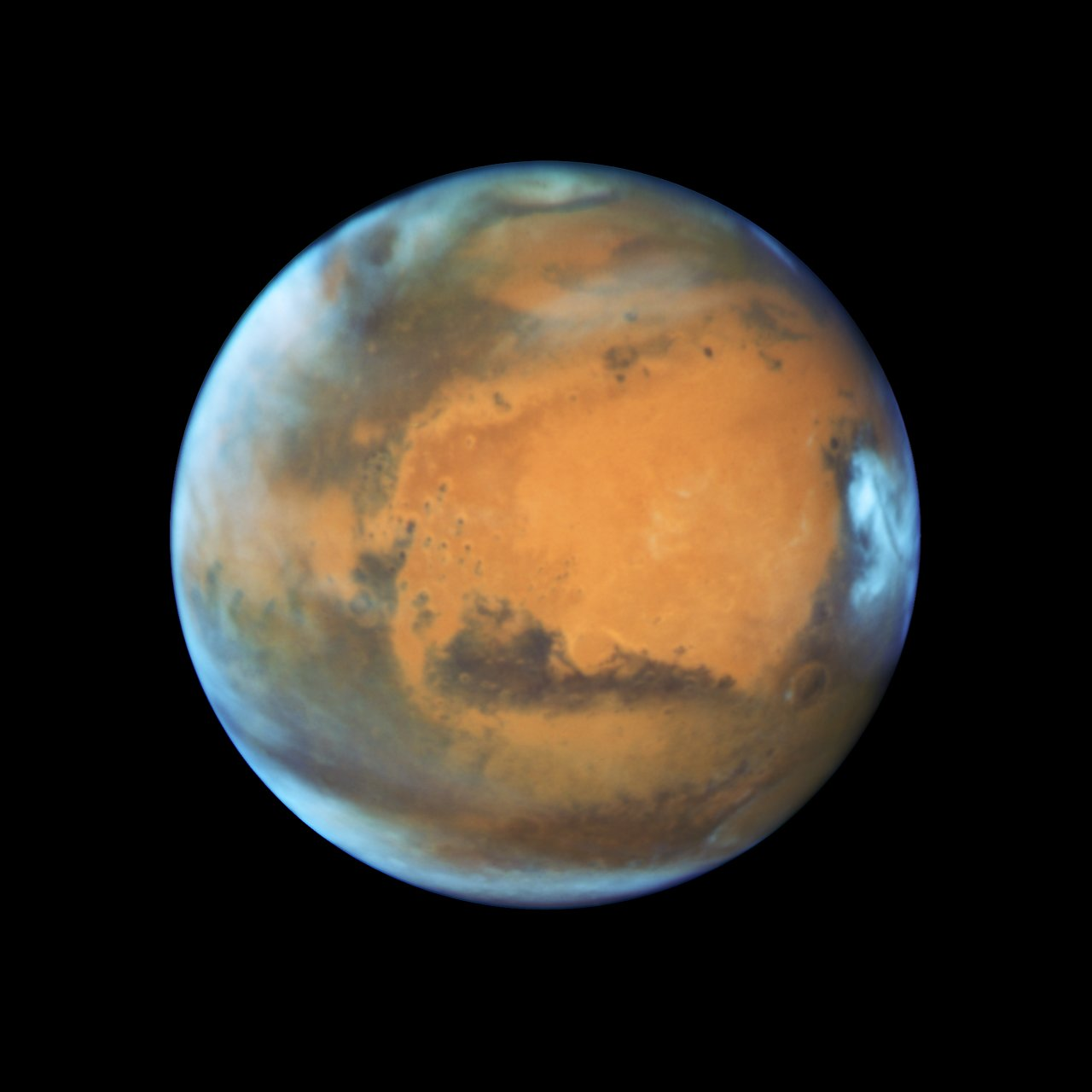 Photo Release: Close-up of the Red Planet