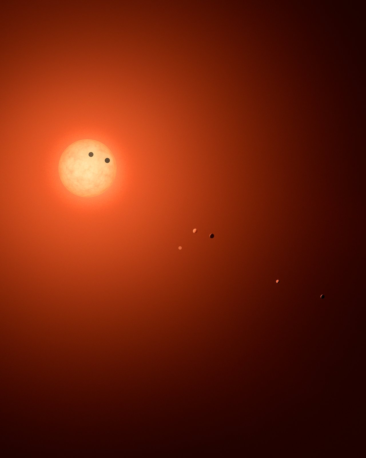 Science Release: Hubble delivers first insight into atmospheres of potentially habitable planets orbiting TRAPPIST-1