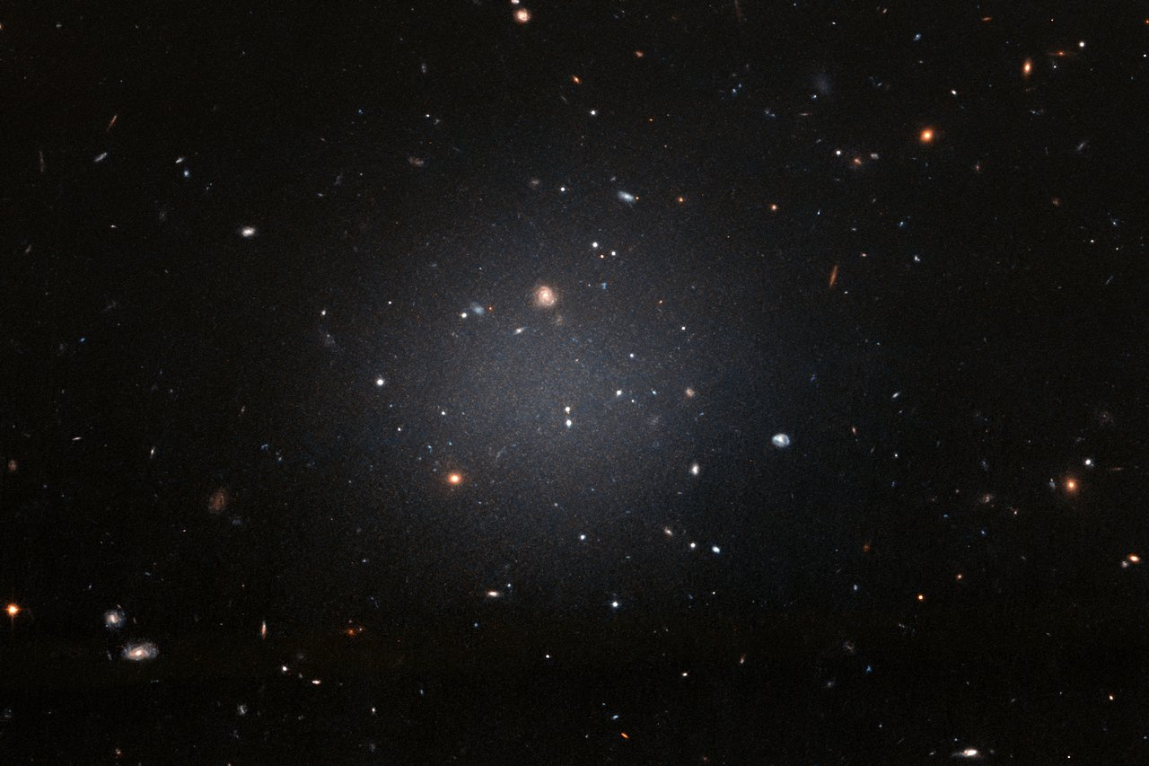 Science Release: Hubble finds first galaxy in the local Universe without dark matter