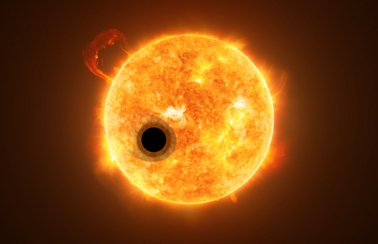 Science Release: Hubble detects helium in the atmosphere of an exoplanet for the first time