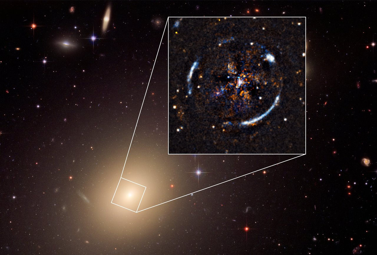 Science Release: Hubble proves Einstein correct on galactic scales