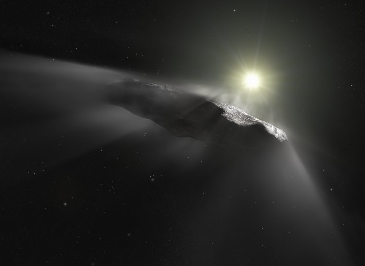 Science Release: Hubble sees `Oumuamua getting a boost