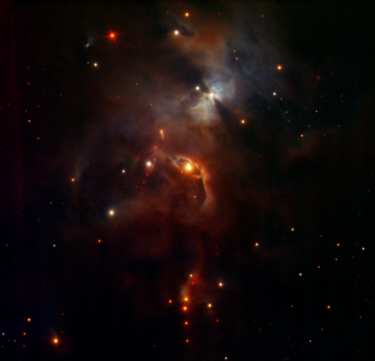Serpens Nebula, seen by HAWK-I