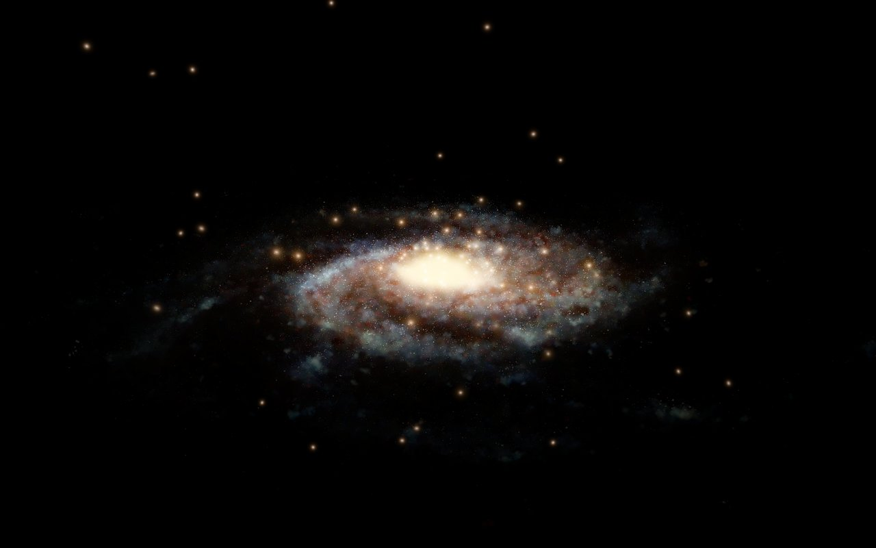 Science Release: Hubble & Gaia accurately weigh the Milky Way