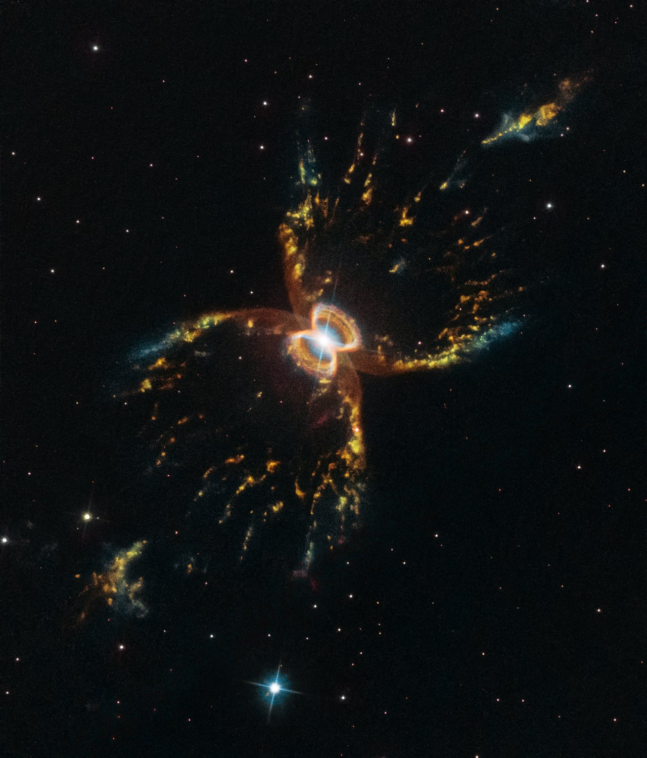 Photo Release: Hubble Celebrates its 29th Birthday with Unrivaled View of the Southern Crab Nebula