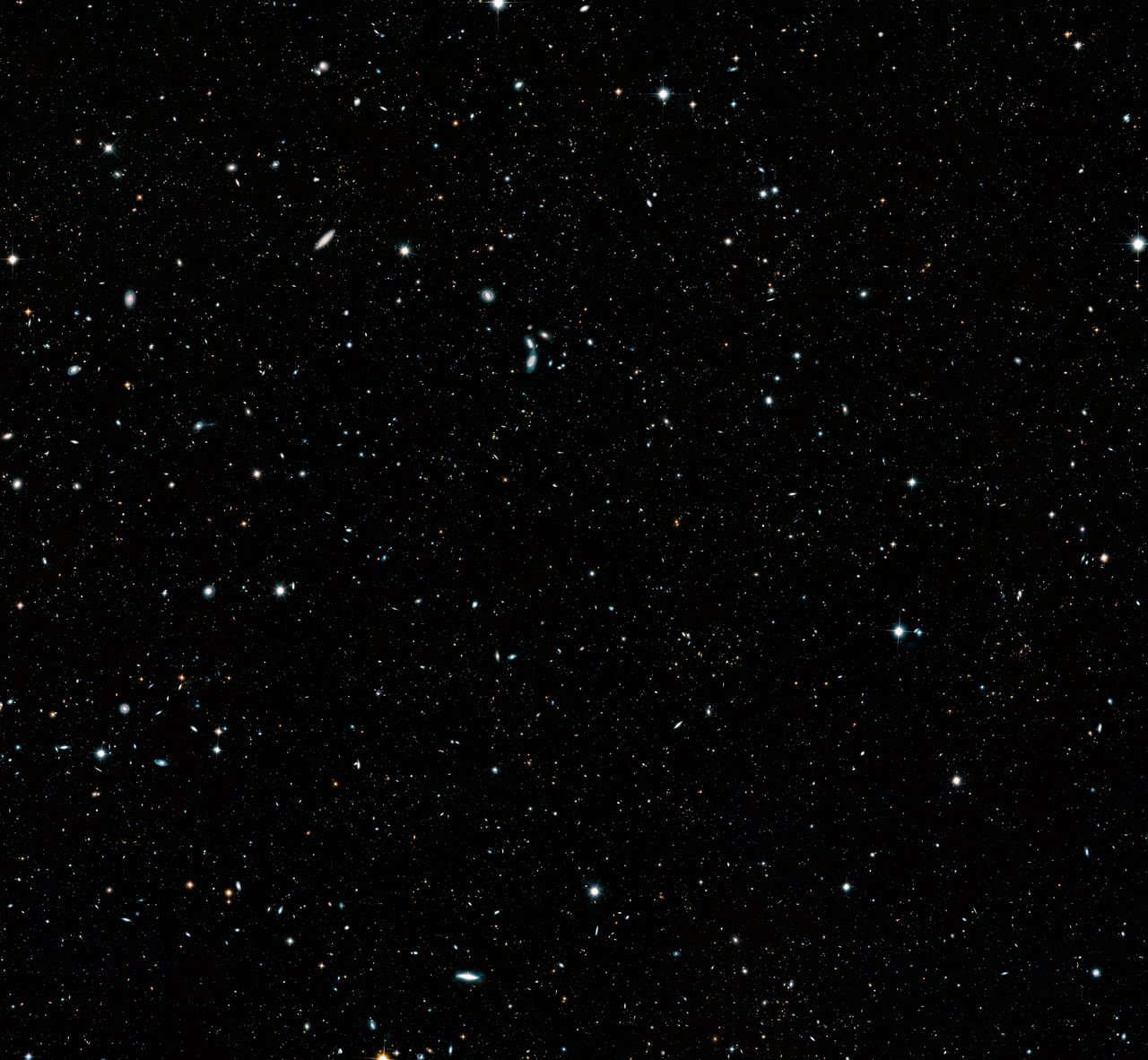 Hubble Legacy Field Image Shows 500 Million Year Old Universe