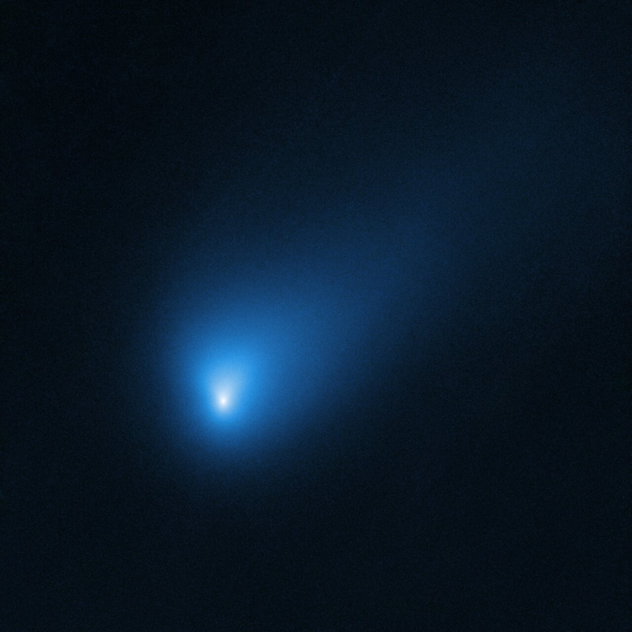Hubble's Observation of Comet 2I/Borisov in October 2019