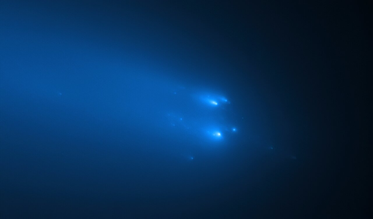 Hubble's Observation of Comet C/2019 Y4 (ATLAS) on 20 April