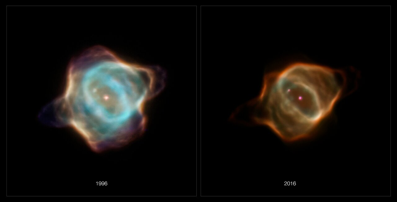 Hubble Captures Fading of the Stingray Nebula
