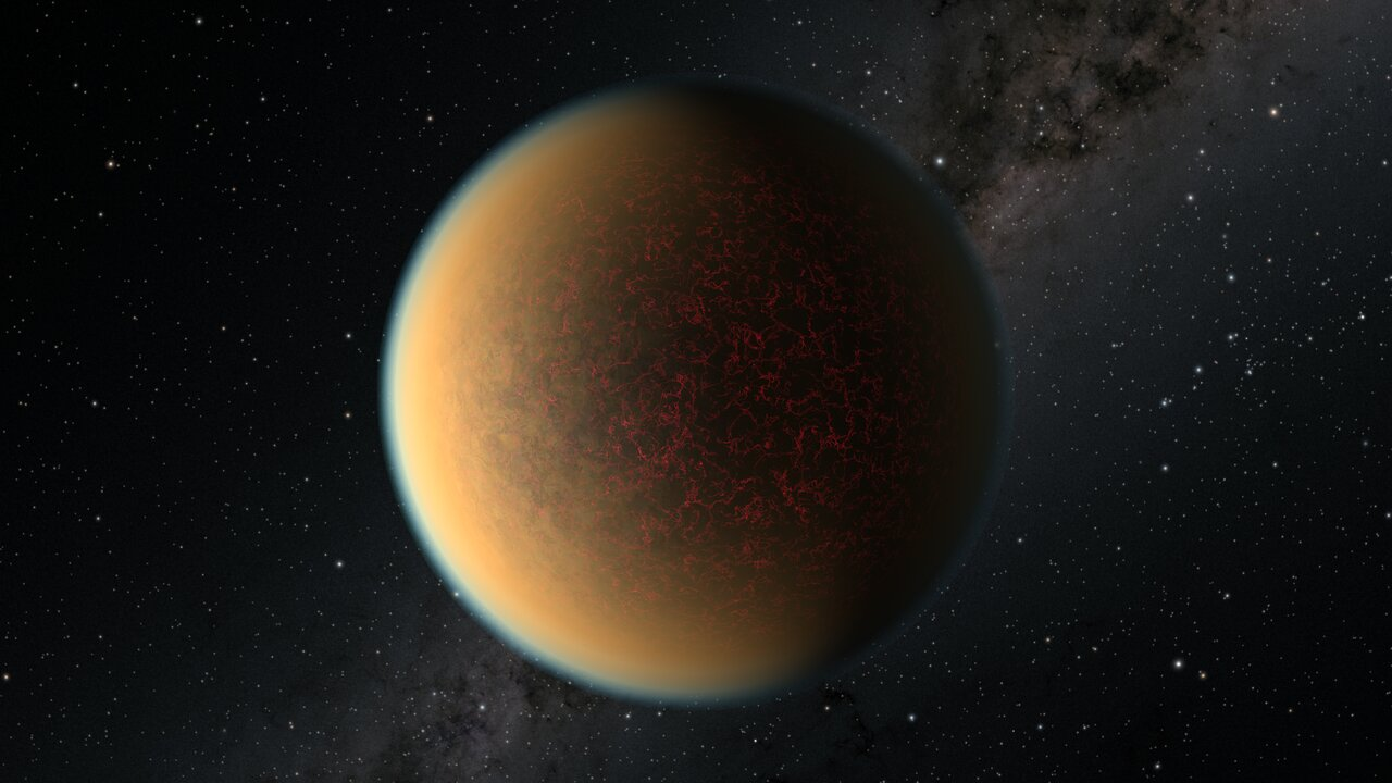 Science Release: Hubble Sees New Atmosphere Forming on a Rocky Exoplanet