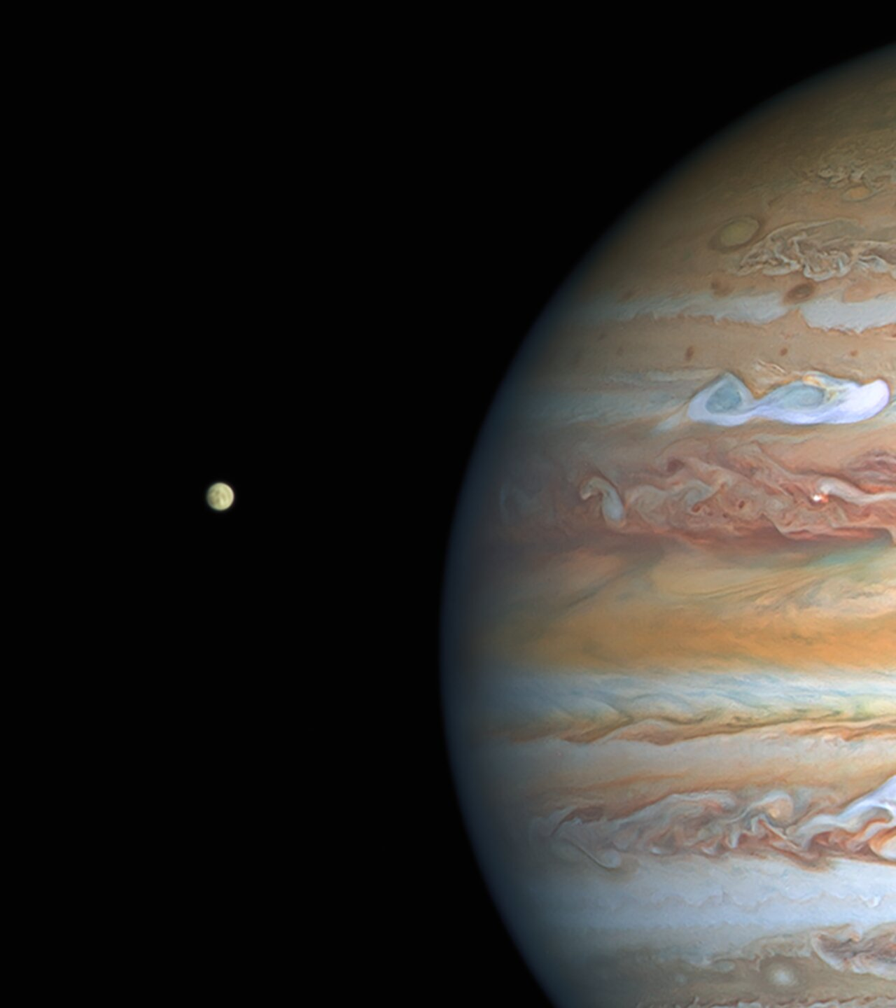 Science Release: Hubble Finds Evidence of Persistent Water Vapour Atmosphere on Europa