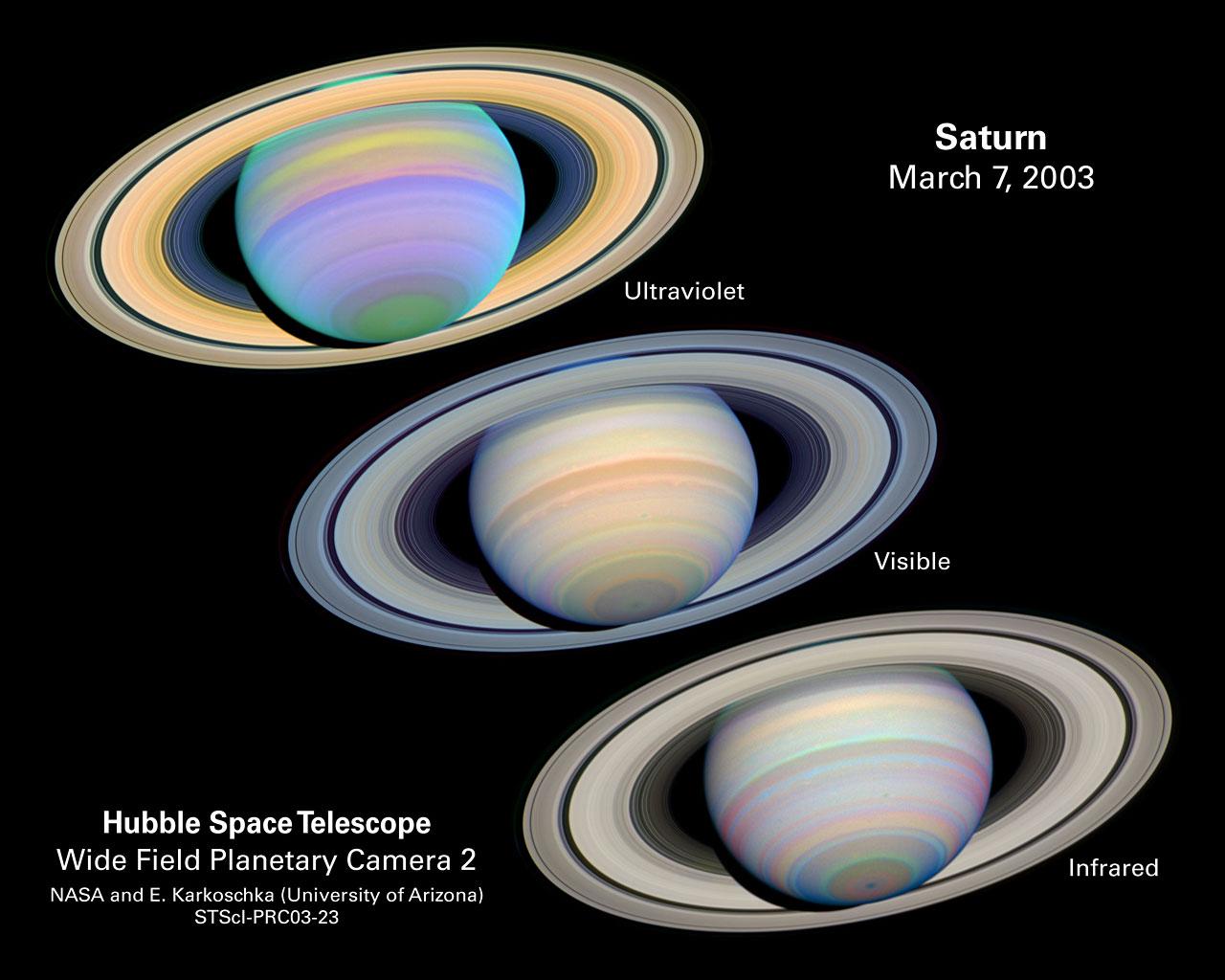 The Slant on Saturn's Rings | ESA/Hubble