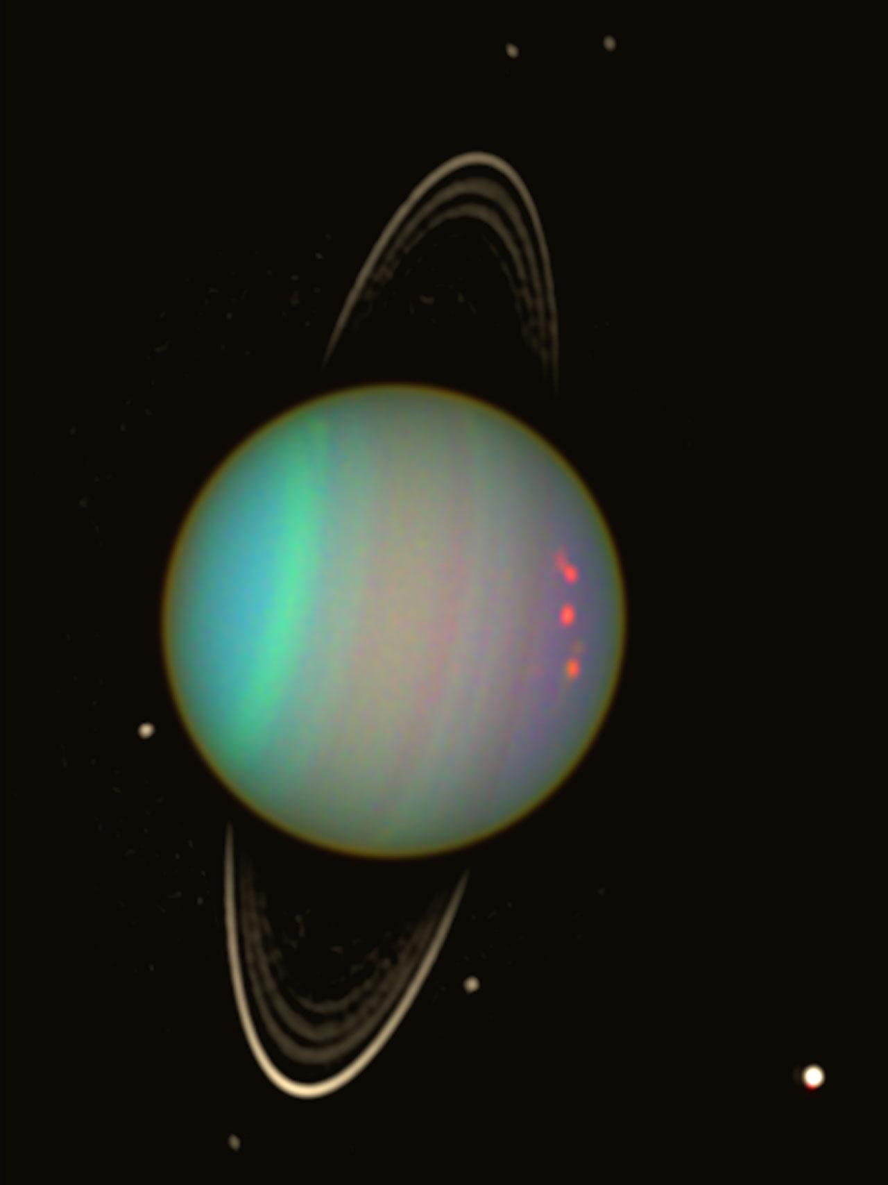 Uranus - Wider View   ESA/Hubble