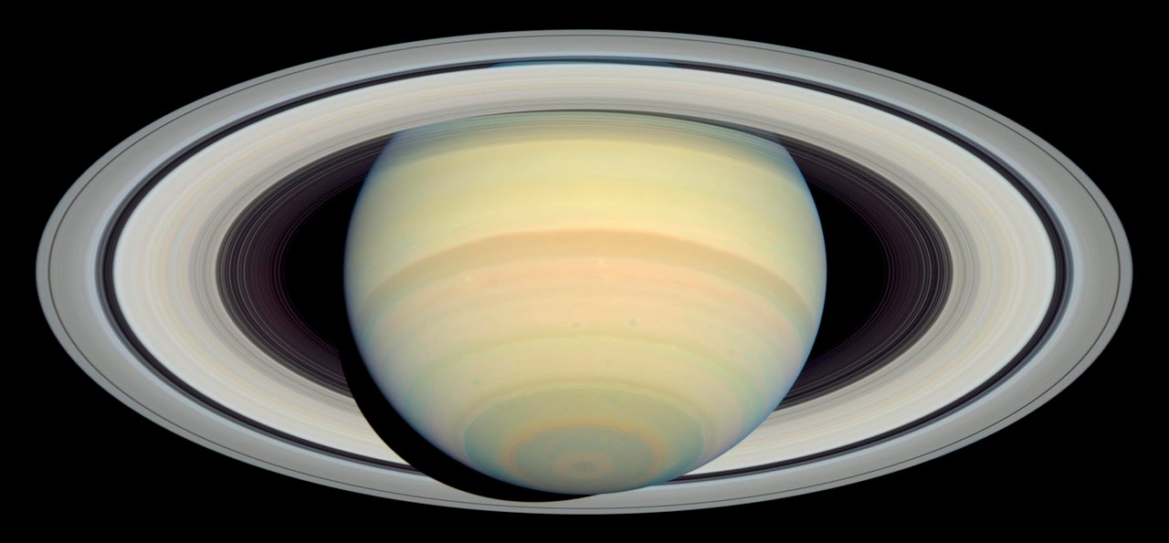 Hubble S Latest Saturn Picture Precedes Cassini S Arrival