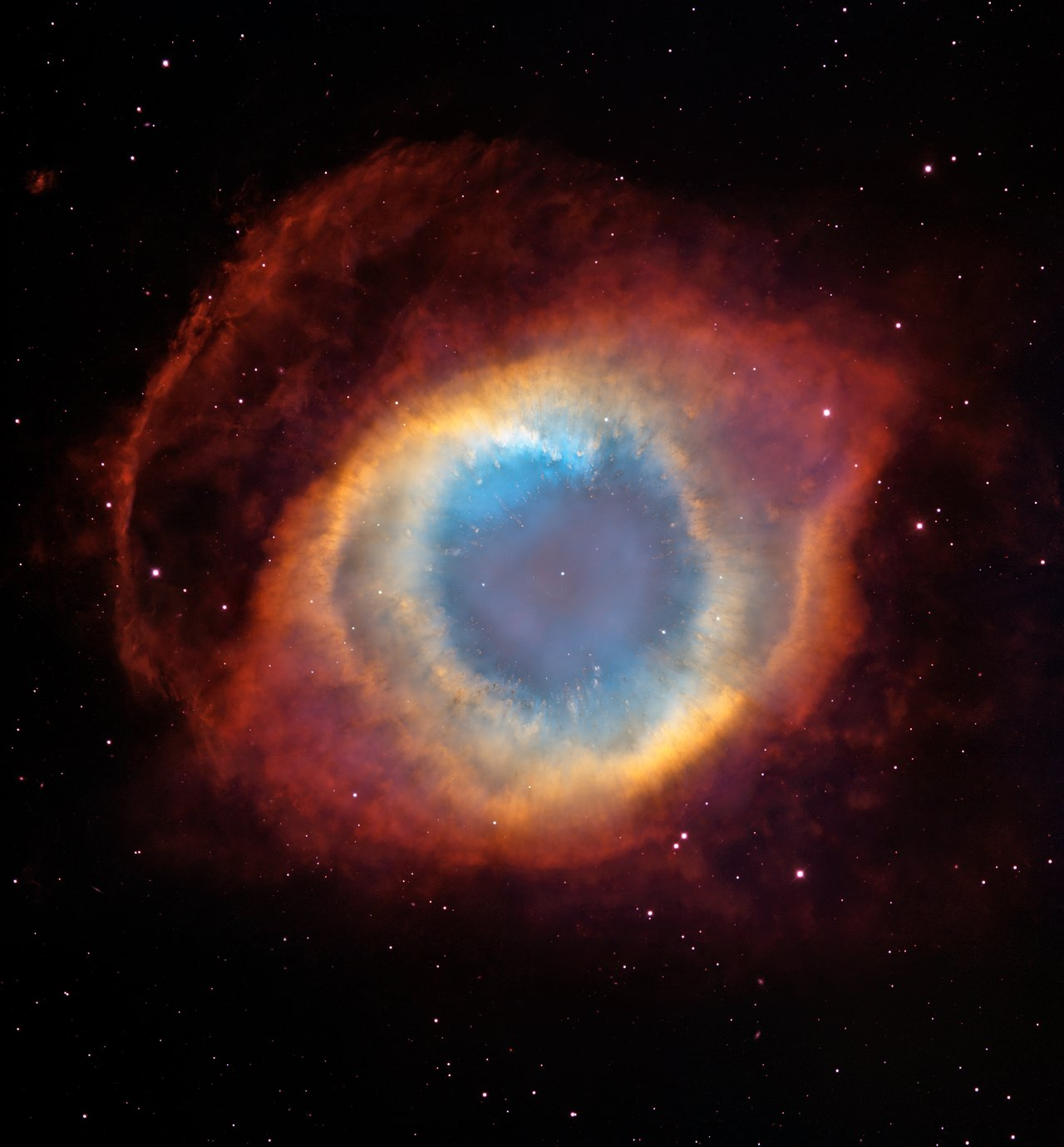 A New View Of The Helix Nebula