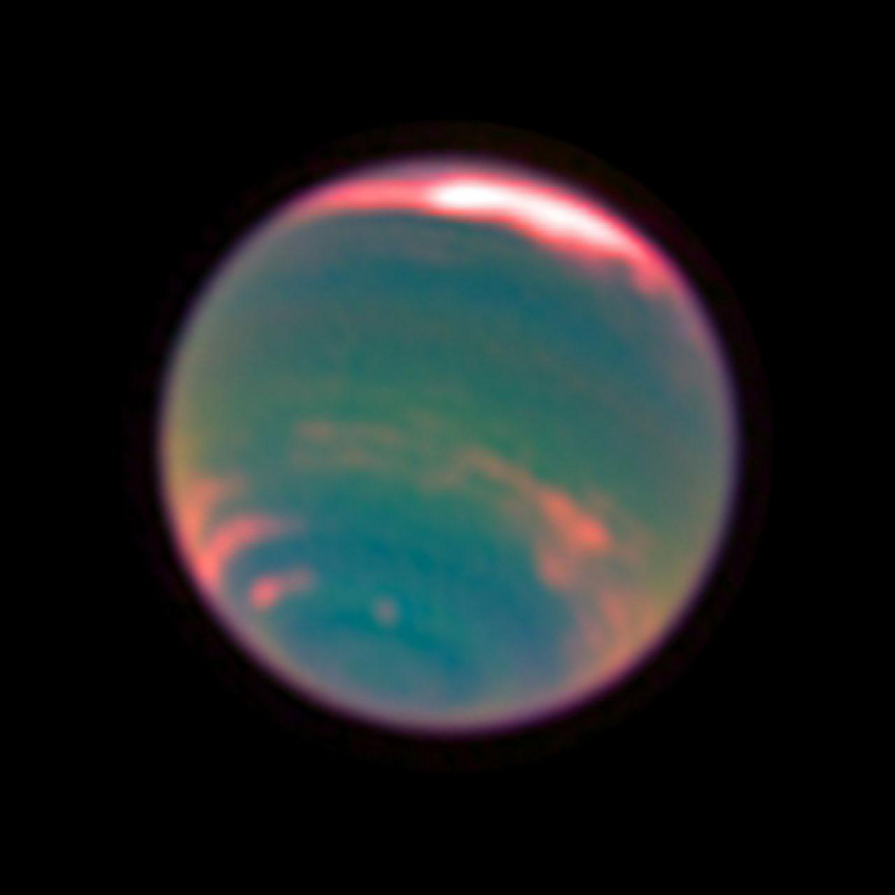 Neptune Methane Band Esa Hubble