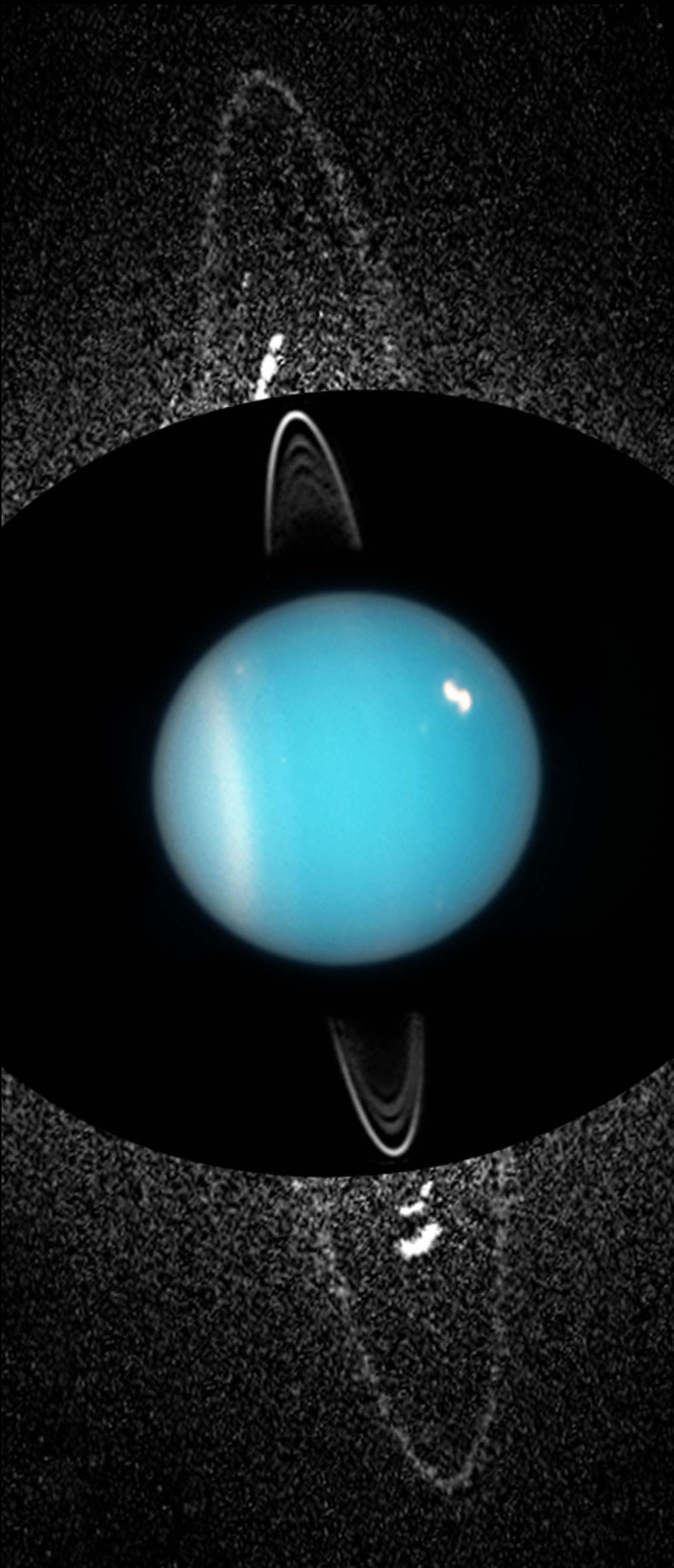 uranus hubble images - HD 1280×2977