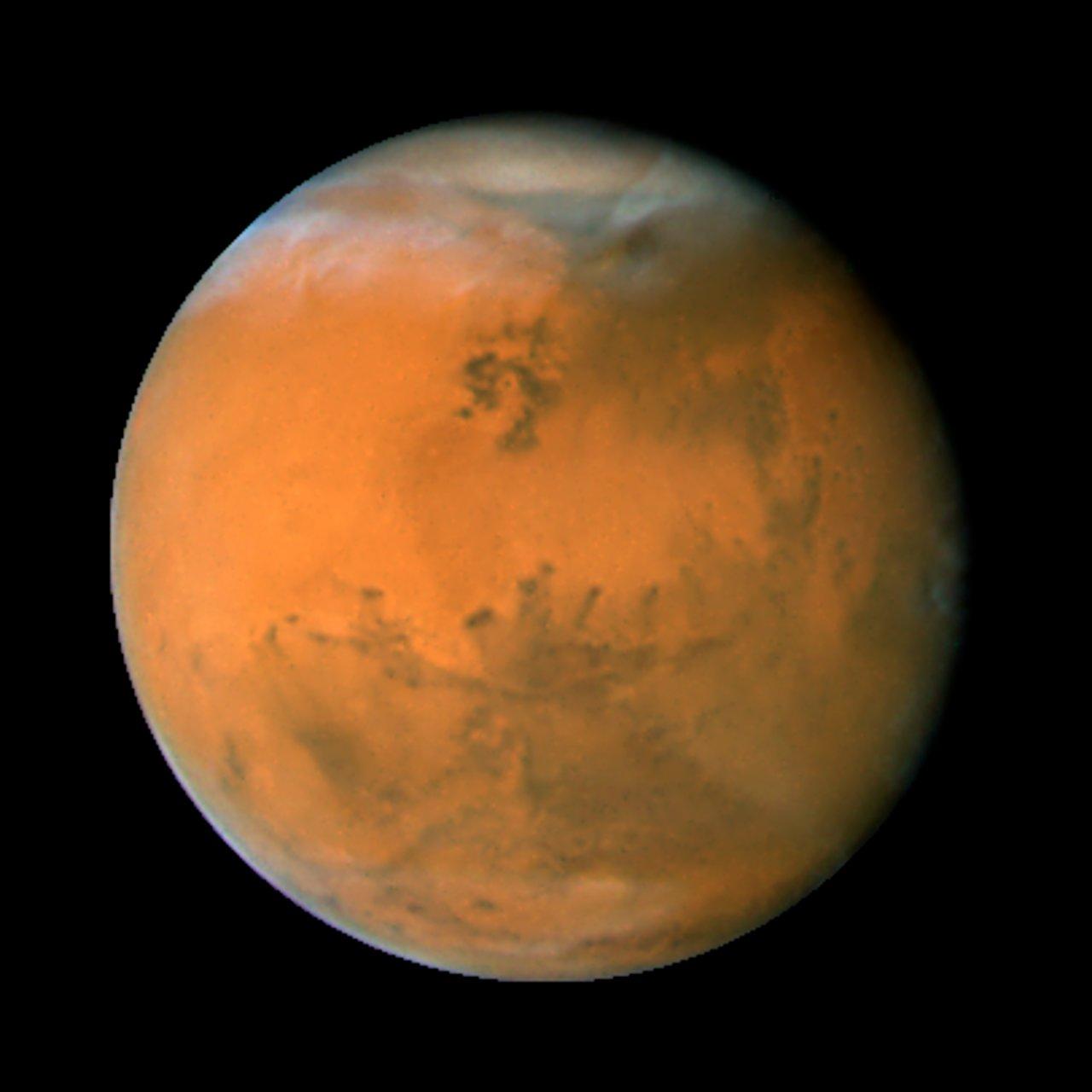 mars on dec  1  2007  longitude