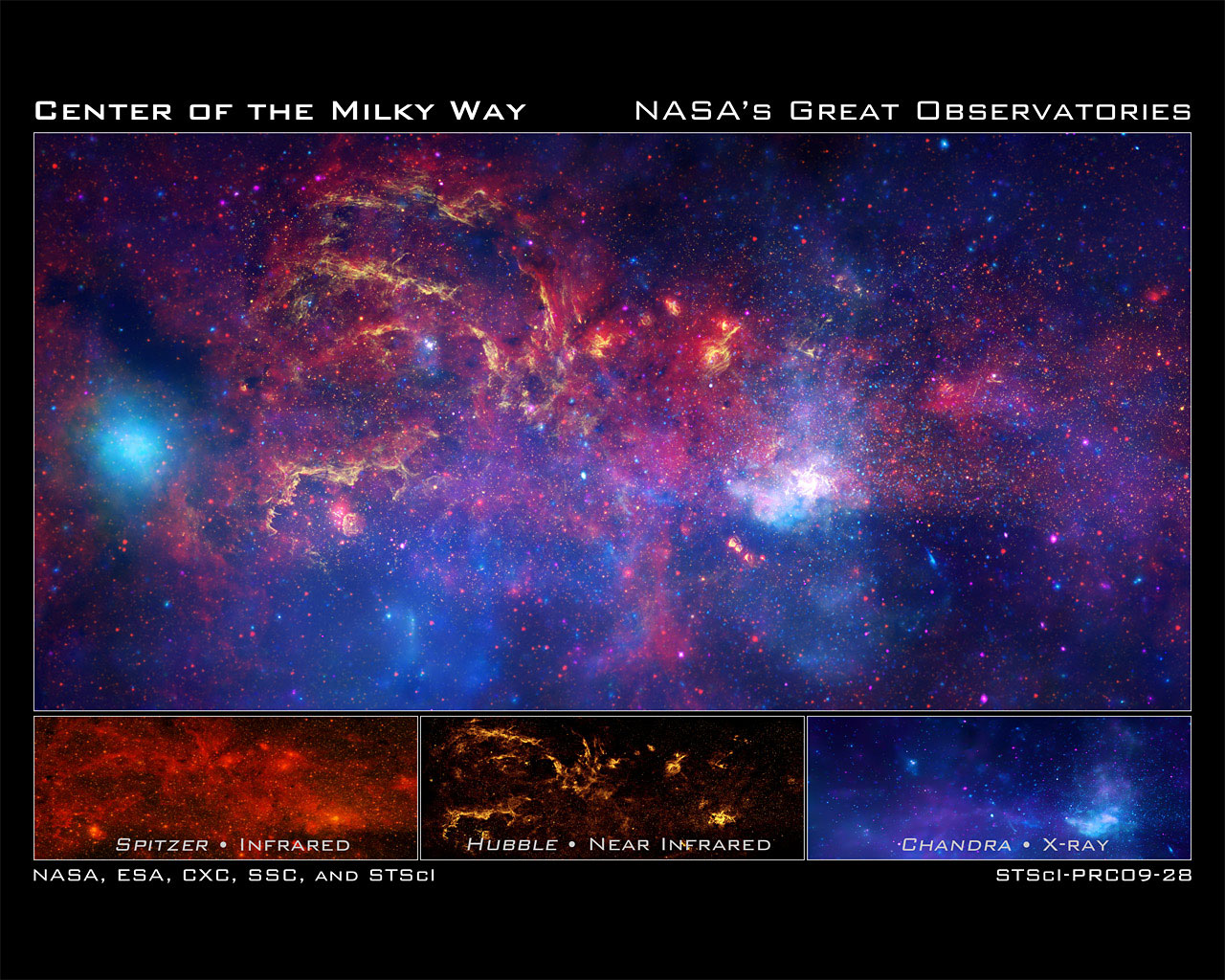 NASAs Great Observatories