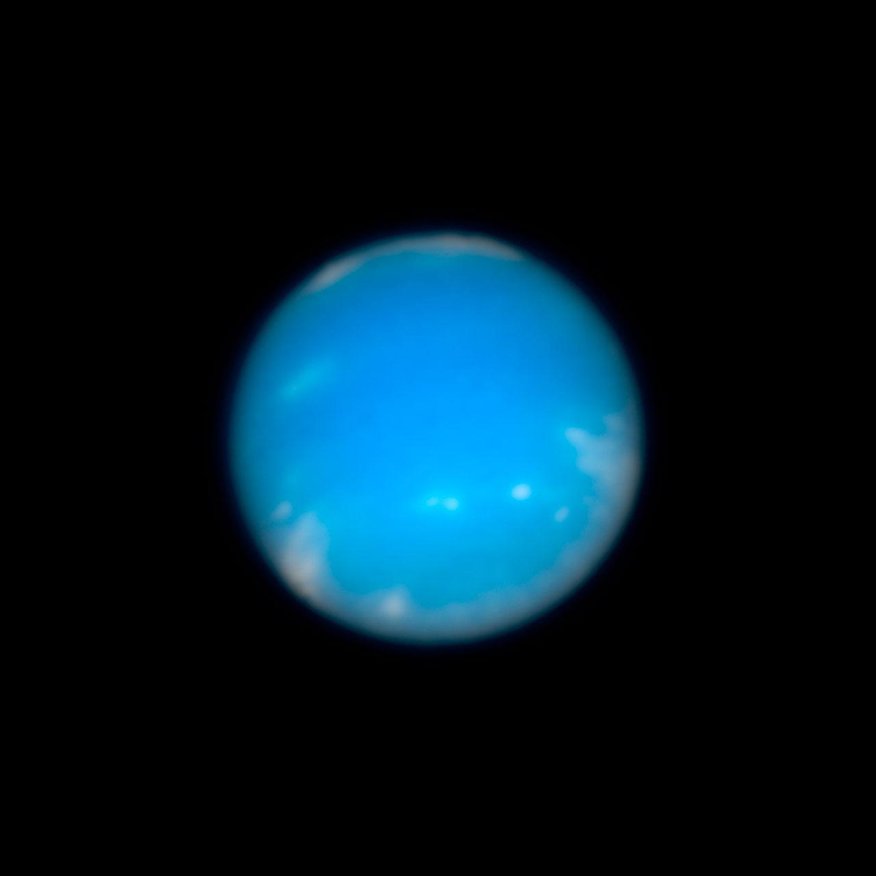 Hubble image of Neptune | ESA/Hubble
