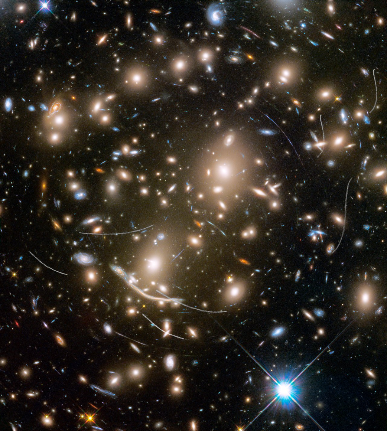 Asteroids in Hubble Frontier Field Abell 370