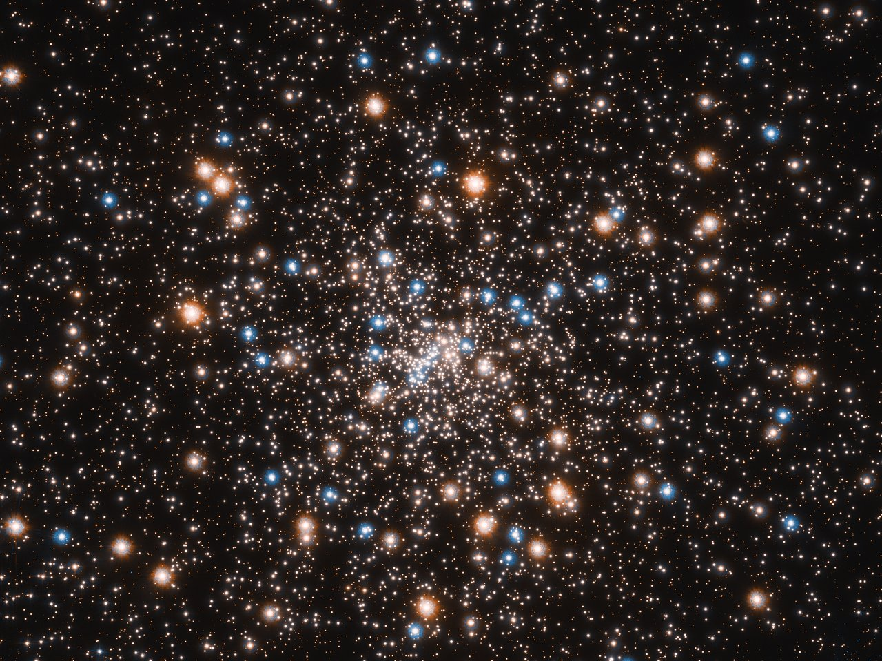 Science Release: Hubble Uncovers Concentration of Small Black Holes