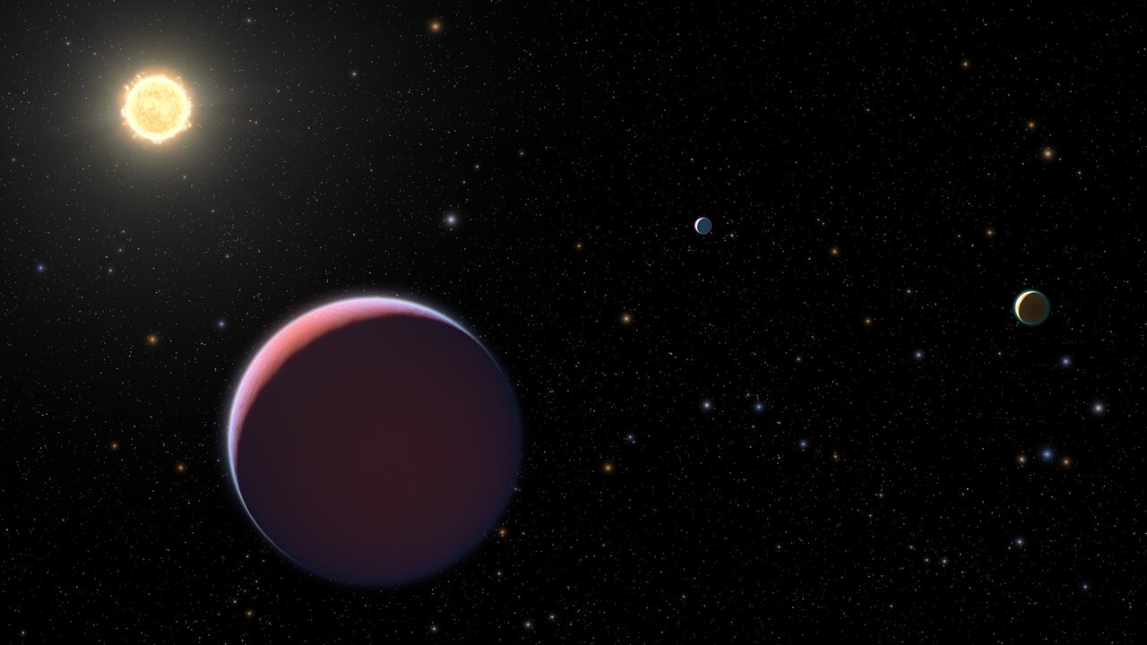 Hubble Probes Cotton Candy Planets