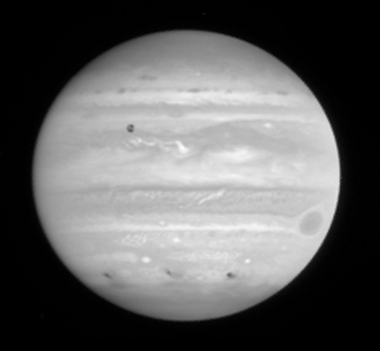 hubble comet and jupiter - photo #2