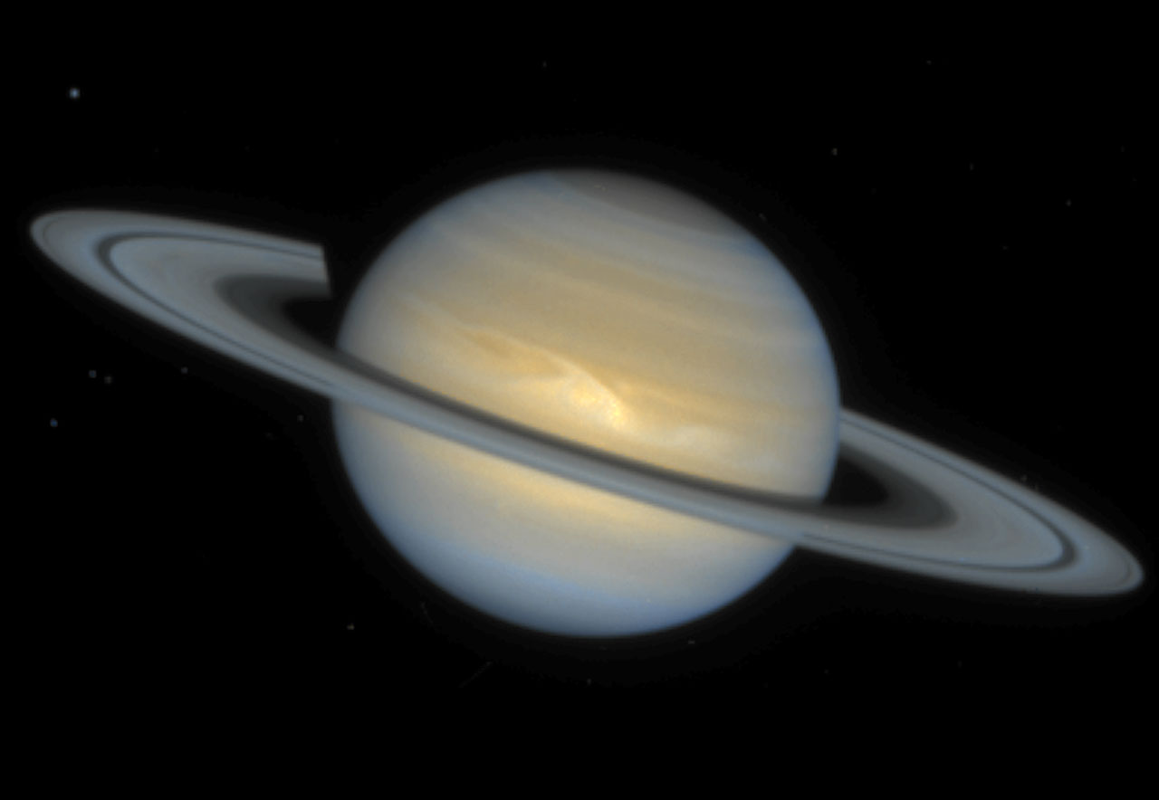 Yet Another Storm on Saturn | ESA/Hubble