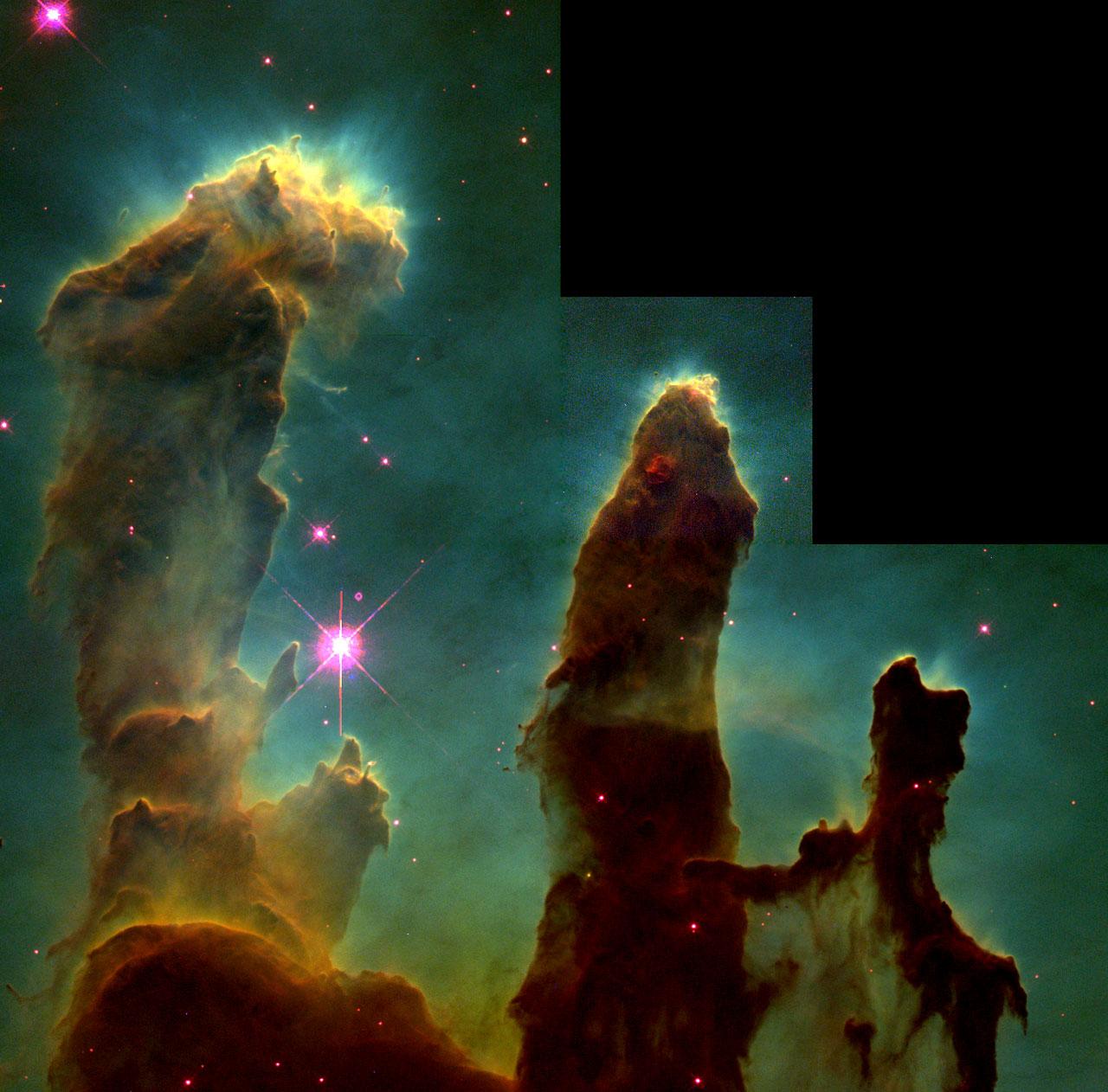 Pillars of Creation | ESA/Hubble